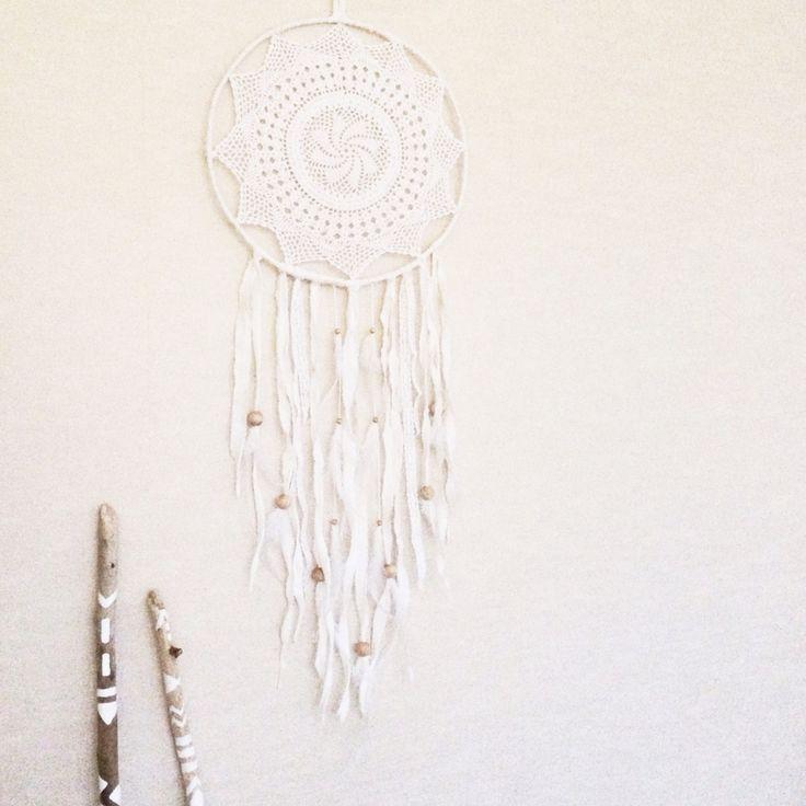 Diy dreamcatcher lace boho bohemian