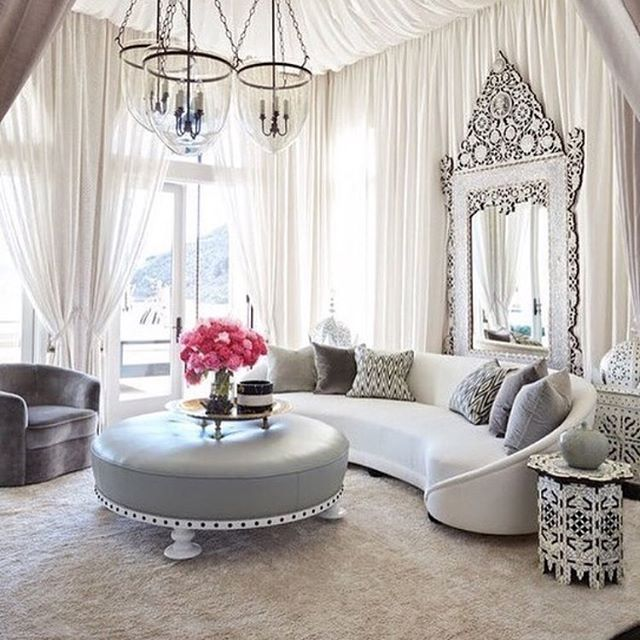 Living room - this is gorgeous but a bit too fancy for someone like me who has a toddler.
