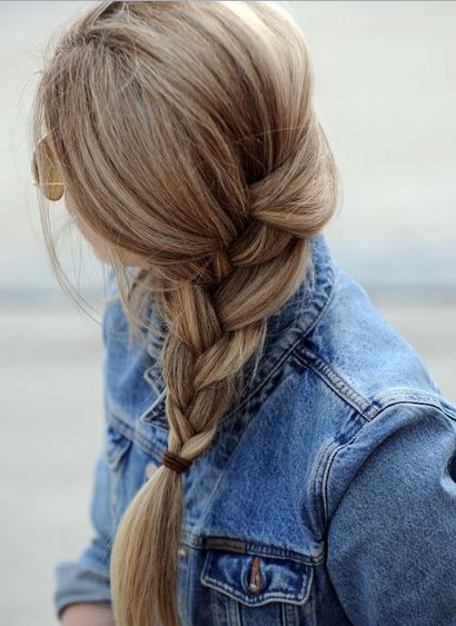 the braid i always want but never get, haha