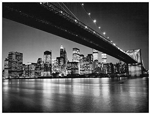 Silberman - New York - New York Skyline di Manhattan (Decorative Panel 47x35.5 inches)