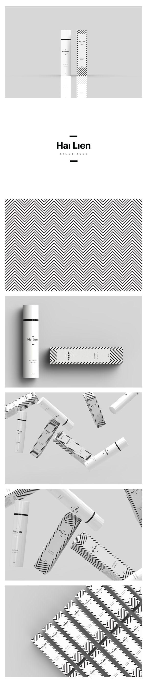 Branding & Packaging for Hai Lien skincare by minimlist.