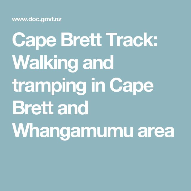 Cape Brett Track: Walking and tramping in Cape Brett and Whangamumu area