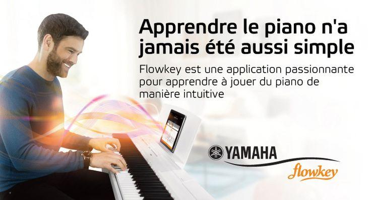 Votre accès premium à flowkey gratuit grâce à votre piano numérique ou clavier Yamaha