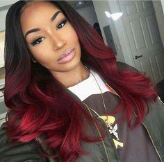 300/400g T1B/Red Ombre Human Hair Weave 8A Best Brazilian Virgin Hair Body Wave