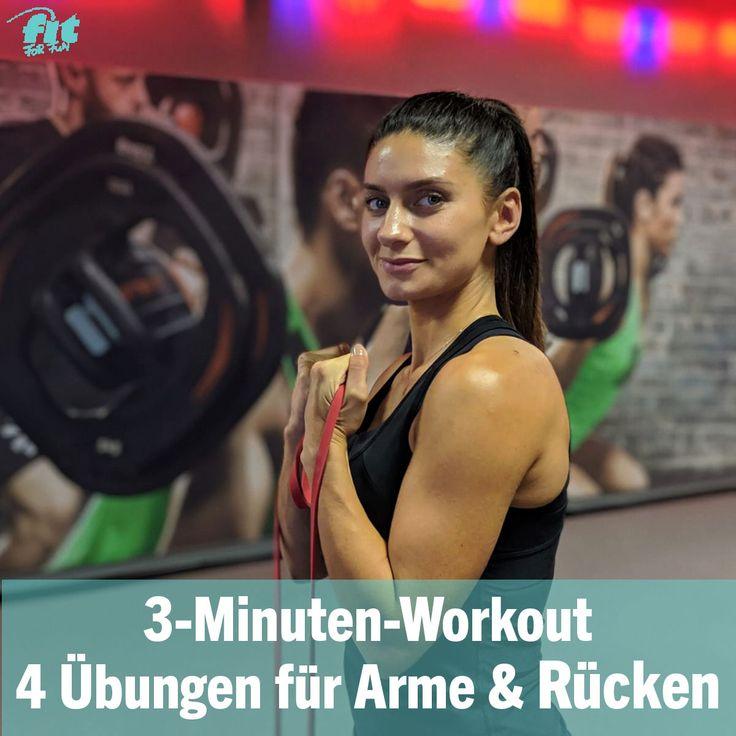 Workout-Video: Widerstandsband-Training für Arme und Rücken