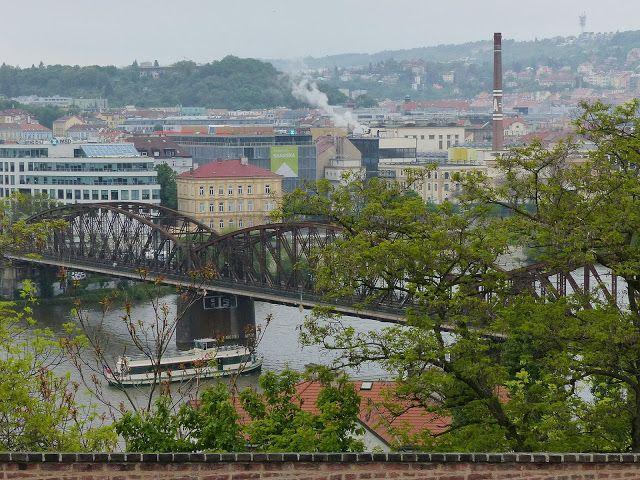 szlaki i bezdroża: Praga - wyszehradzki most kolejowy