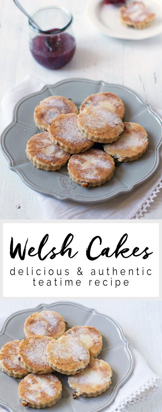 Welsh Cakes - a delicious & authentic recipe from Wales #welshcakes #wales