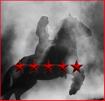 Congrats to Janette Fowler on her 5 stars. Girl, you're going to need a bigger pony.