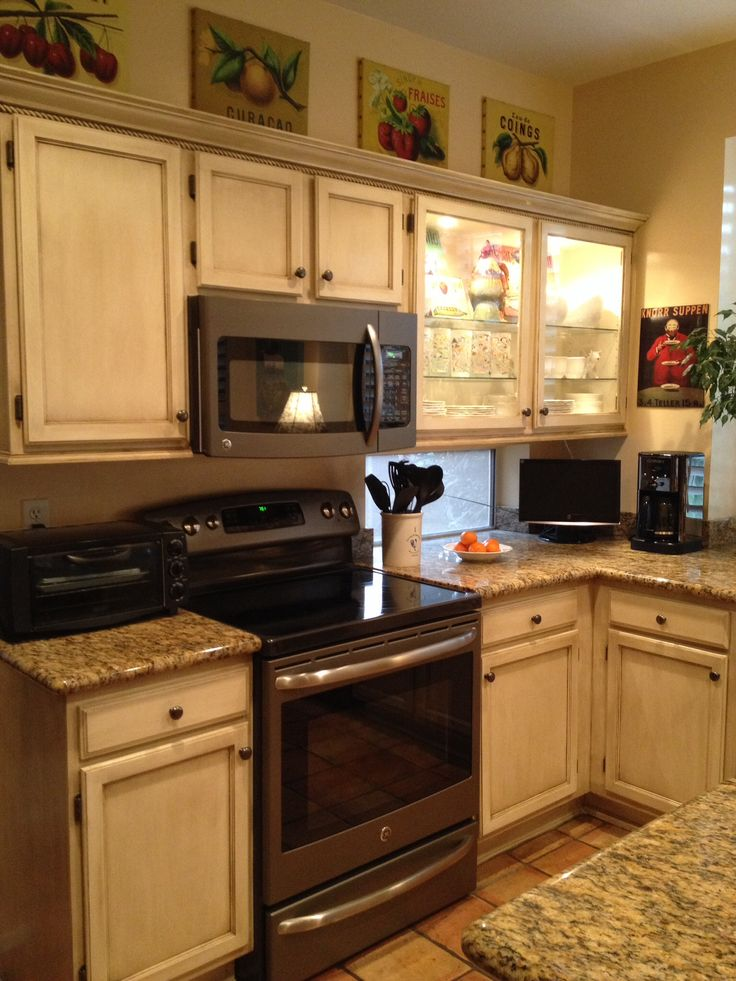 GE Slate Appliances French Country Pinterest Slate Kitchens And White Cabinets