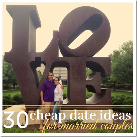 Dates for married couples but a lot of these ideas are great for the family as well.