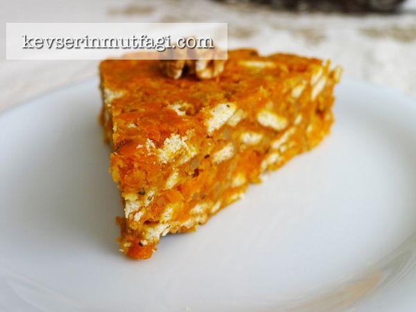 Havuçlu Mozaik Pasta Tarifi - Kevser'in Mutfağı - Yemek Tarifleri