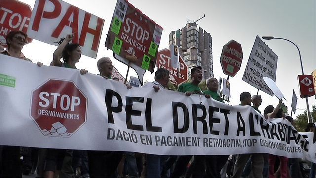 Documental para exigir el derecho a la vivienda digna. En colaboración con la Plataforma de Afectados por la Hipoteca, Sicom y Namuss Films