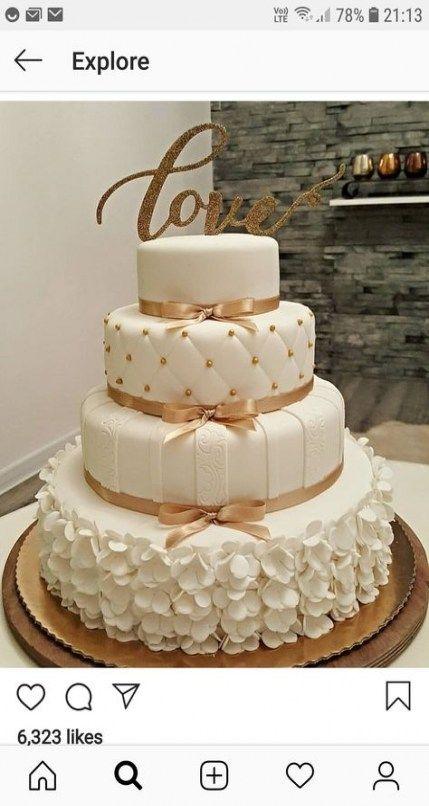 Trendy Kuchen Fondant Hochzeit Bräute 27+ Ideen   – Wedding n Bridal n Baby  shower  Cakes ,Ideas n Photos