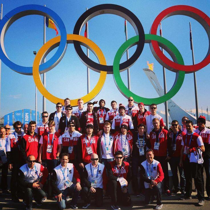 Team Canada aux J.O. Sotchi 2014!!