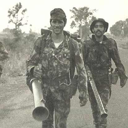 "Portuguese Army ""Comandos"" with Bazookas in Guinea - Colonial War (1972)"
