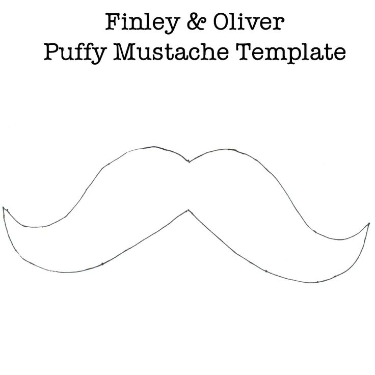 Puffy Mustache Template
