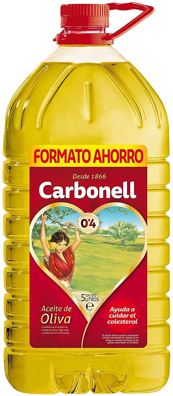 Aceite De Oliva Carbonell 5 Litros Por Solo 12 45 Descuento Del