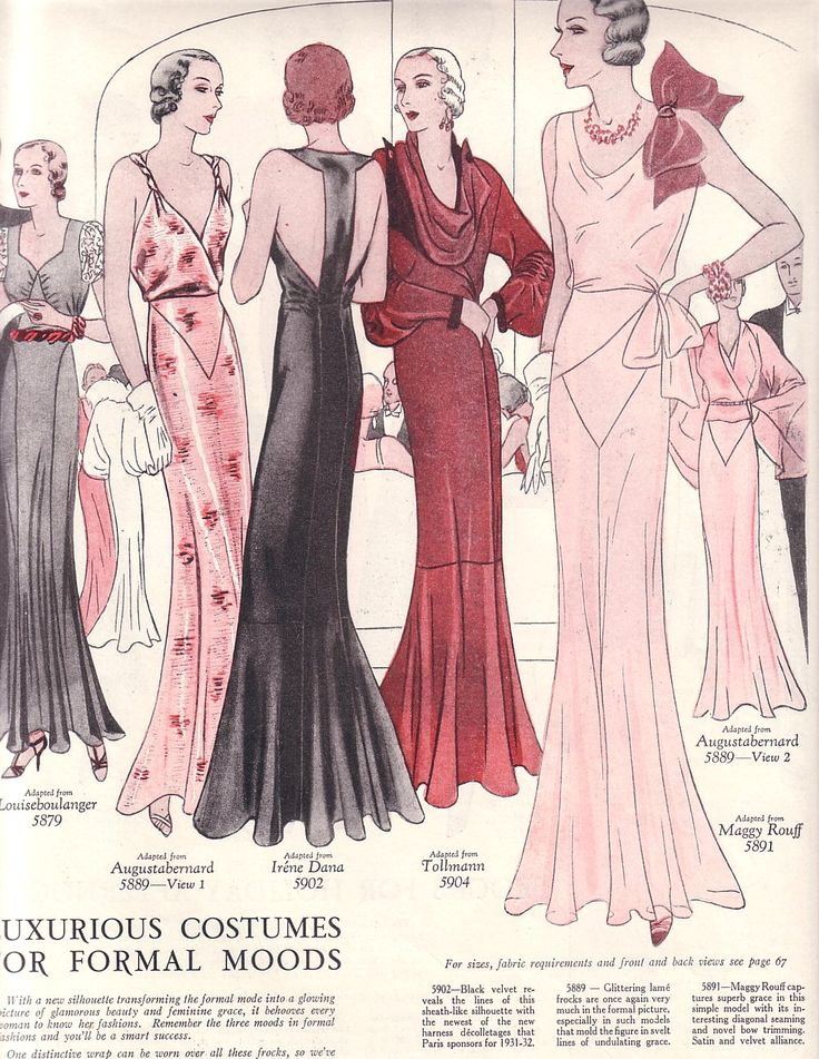 Vintage 30's fashion