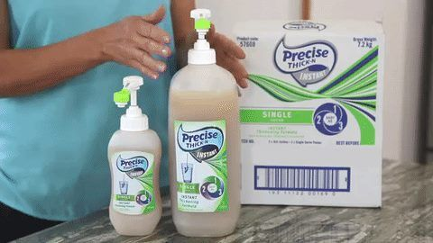 Thick-N INSTANT Single Serve is available in both 3L and 500mL bottles.
