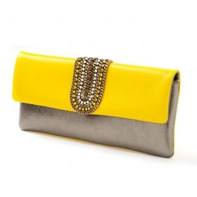 FW 2103 - Nanni Milano Gunmetal and yellow