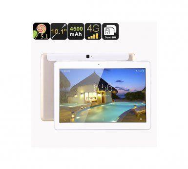 AUTO-HIGHTECH Tablette tactile telephone 10,1pouce Quad Core CPU, Double SIM 4G, Android 5.1, OTG, 16Go de mmoire,