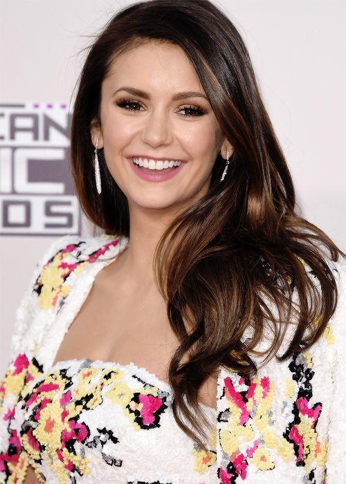 Nina Dobrev attends the American Music Awards / November 22nd, 2015