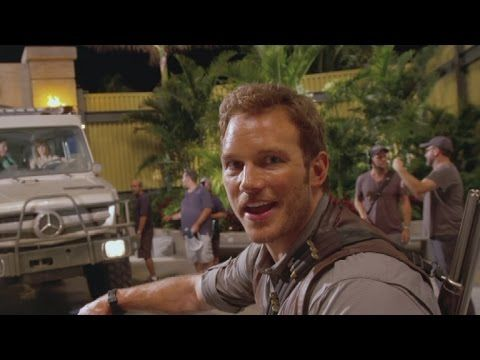 Watch Chris Pratt's Hilarious Behind-the-Scenes 'Jurassic World' Video Diary - YouTube