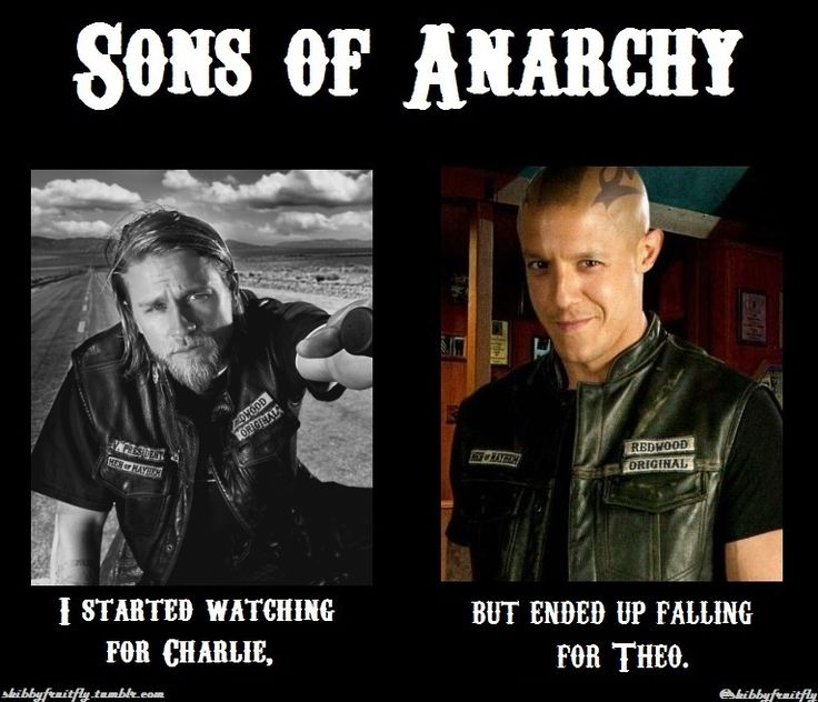 SoA Confession: I started watching for Charlie, but ended up falling for Theo