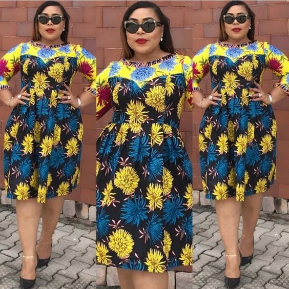 5e916a58877 Cutie Ankara Short Gowns Styles 2018 for Beautiful Ladies to Rock - DeZango  Fashion Zone
