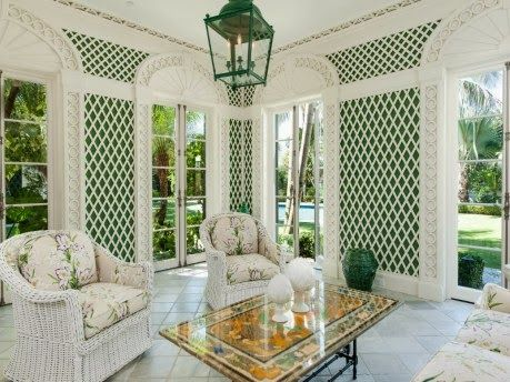 The Glam Pad: Palm Beach Preservation Perfection
