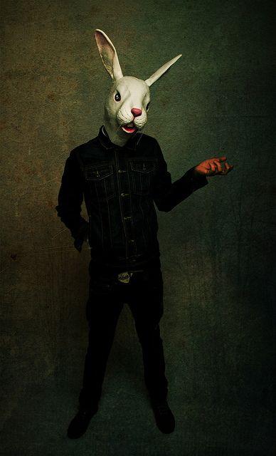 Animal mask/Anti Fashion, via Flickr.