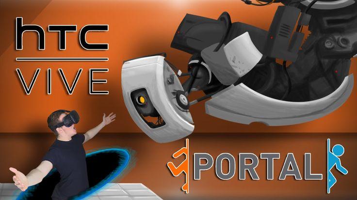PORTAL 3?! - HTC Vive Portal Gameplay (Virtual Reality)