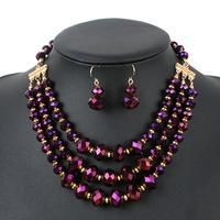 Jewelry Sets Luxury Fashion Women crystal Evening Party African Beads  – On Trends Avenue