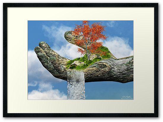 Framed Print Piece Of Nature By Eric Nagel Wandbilder Wohnzimmer HomeDecor