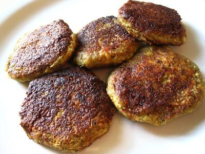 Tempeh Cutlets. Serve on salad greens, in a sandwich, with an Asian and veggie rice bowl.