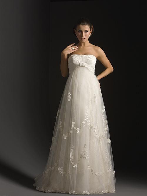 1000  ideas about Pregnancy Wedding Dresses on Pinterest ...