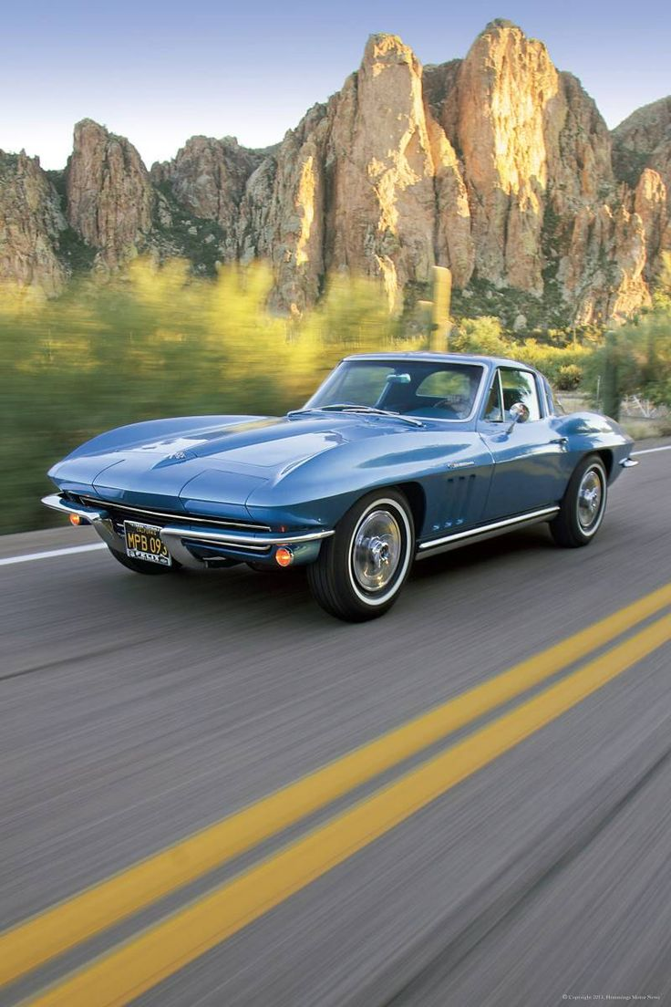 1965 Chevrolet Corvette. Loved my '65. it was painted a Ford color: Midnight Blue. Beautiful car. This one isn't mine, but nice