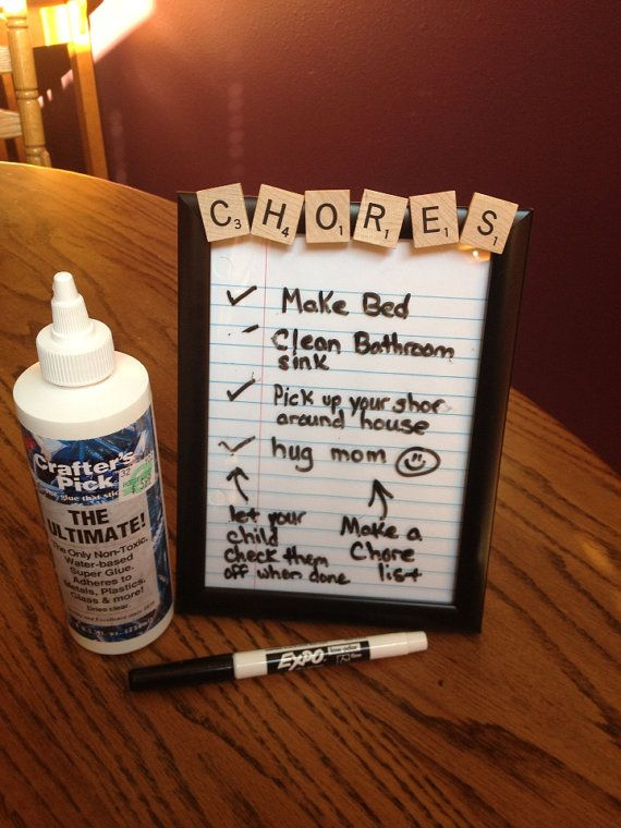 CHOOSE YOUR WORD Dry Erase Message Board by CelebratingTheMoment