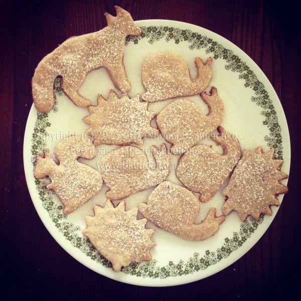 Веганское печенье из песочного теста рецепт