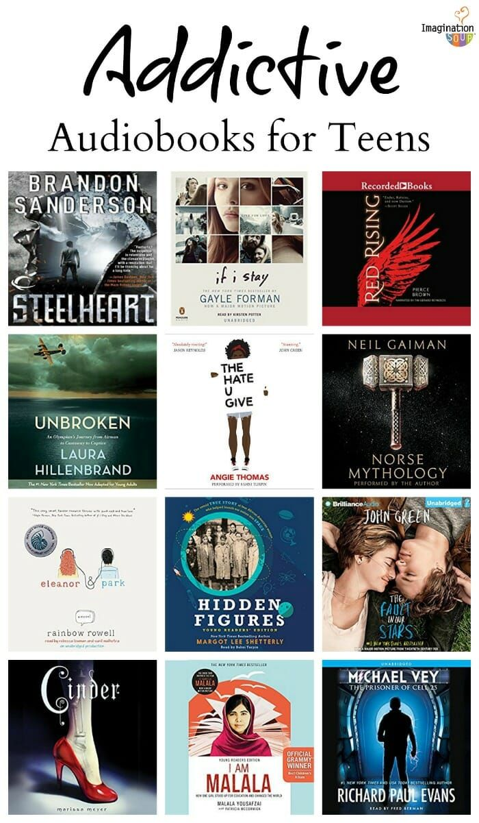 the best YA audiobooks for teens #books #yabooks #teen
