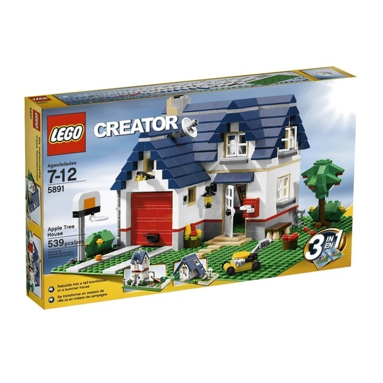LEGO Creator Apple Tree House. SEE MORE LEGO CREATOR HOUSE FOR YOUR SUIT AT http://www.pinterest.com/suliasedge/lego-creator-house/