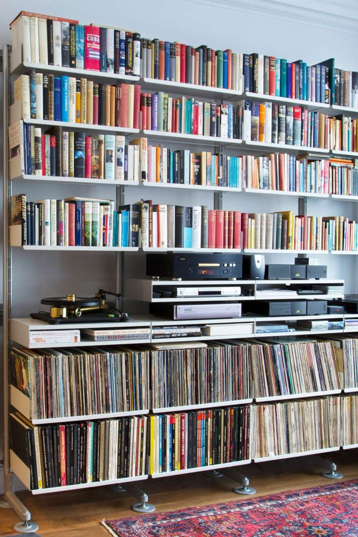 262 best images about cd or lp shelving storage ideas on for House music vinyl