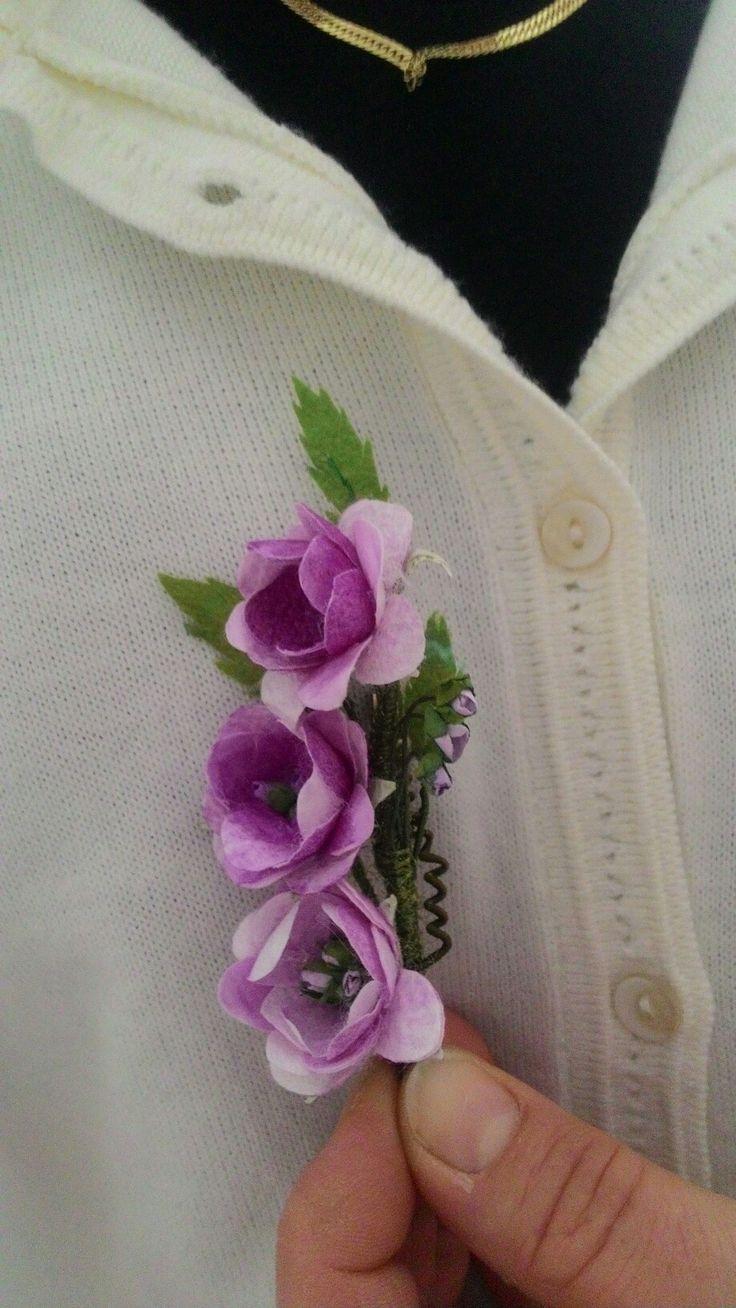 Lila bahar çiçeği