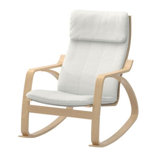 Ikea Trofast Extendable Bed ~ POÄNG Rocking chair IKEA Frame made of layer glued bent birch; a very
