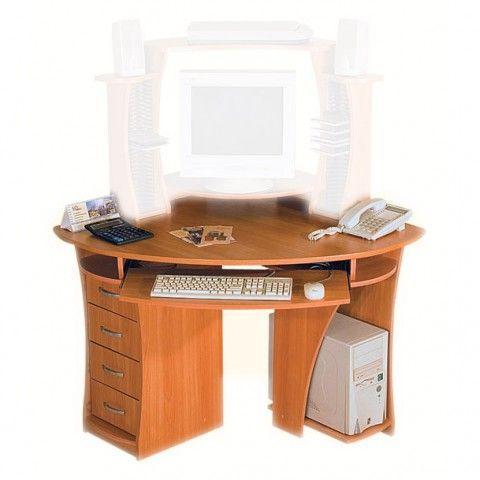 Угловой компьютерный стол КС-2 : Компьютерные столы и мебель - компьютерные столы для дома и офиса, продажа компьютерных столов, компьютерный стол каталог, компьютерные столы на заказ, дешевые компьютерные столы, компьютерные столы интернет магазин, Москва.