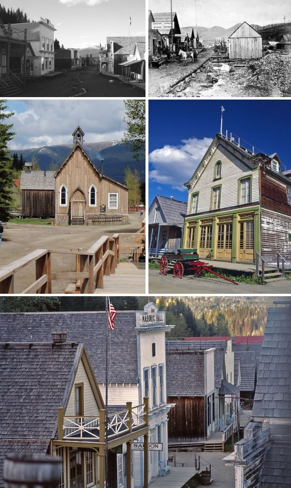 Barkerville, British Columbia--- ghost town  (ive been there 3 times now and ever time its awesome i hope to take my son a cupple times as well)