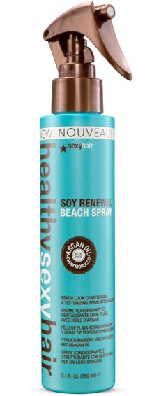 Soy Renewal Beach Spray. If you want that beachy look to continue through the cooler months and have chic boho hair... you need to try this product. You will not be disappointed. #distinctlychic