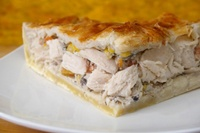 Collection of easy leftover chicken  recipes