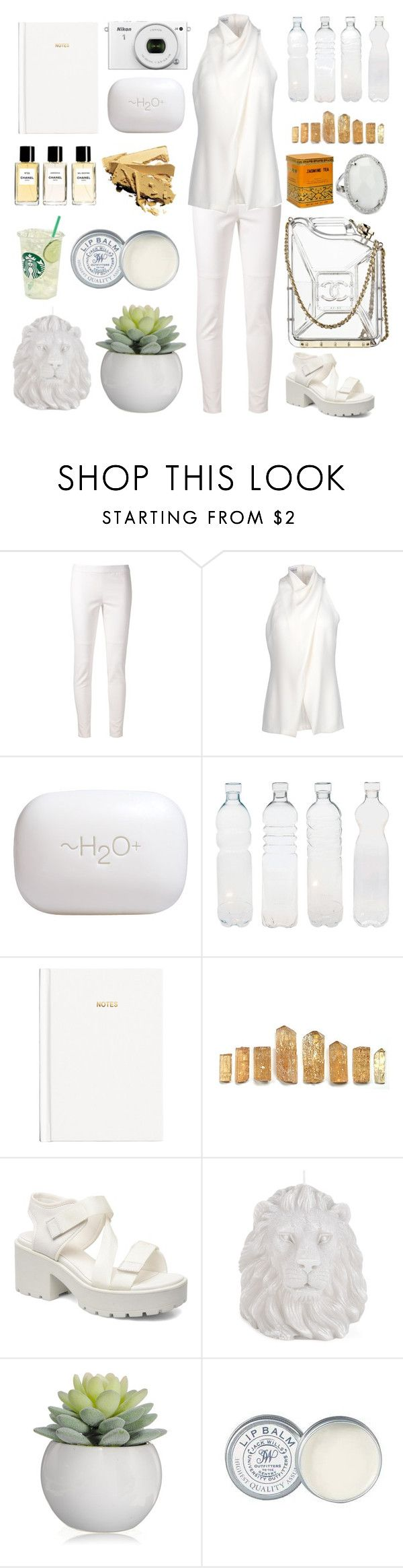 """""""#15"""" by zelonichai ❤ liked on Polyvore featuring 10 Crosby Derek Lam, Alberta Ferretti, H2O+, Seletti, H&M, Chanel, Guide London, Zara Home, Jack Wills and Nicky Hilton"""