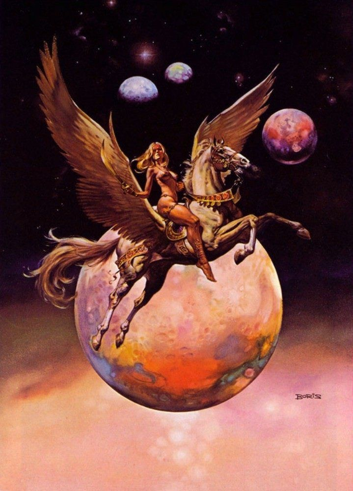 Boris Vallejo- Golden Wings